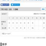 新居浜西vs松山商